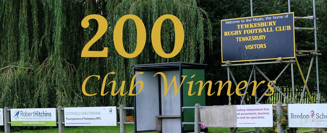 200 Club December Winners