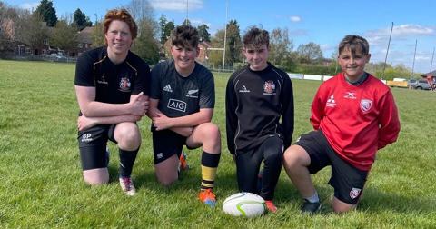 U14's take on coaching for Duke of Edinburgh awards