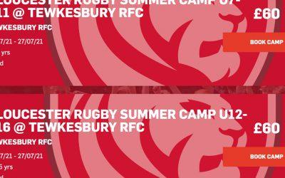 Gloucester RFC Summer Camps