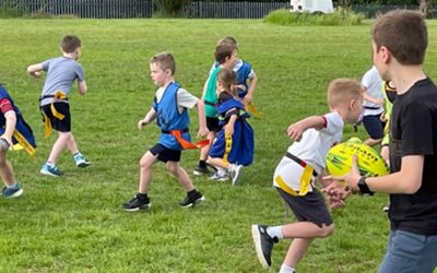 New mini tag rugby sessions kick off