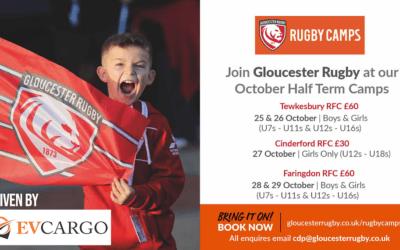 Hosting Gloucester Rugby Half Term Camp
